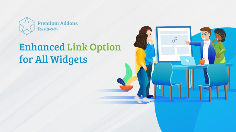 Enhanced Link Option for All Widgets